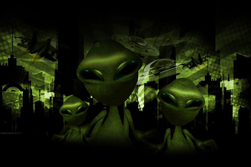 Aliens Invasion Theme